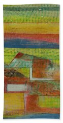 Field Of Screens Beach Towel