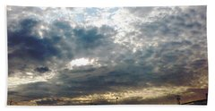 Fierce Skies Beach Towel
