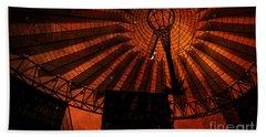 Fiery Cosmic Berlin Beach Sheet