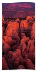 Beach Towel featuring the photograph Fiery Furnace by Dustin LeFevre
