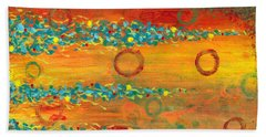 Fiesta Painting Beach Towel