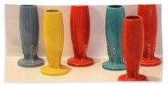 Fiestaware Bud Vases Beach Sheet