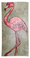 Fifi Flamingo Beach Sheet