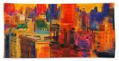 Fifth And Madison Beach Towel