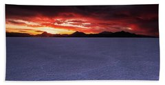 Beach Towel featuring the photograph Fight For The Light by Edgars Erglis