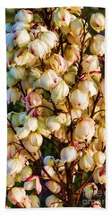 Filled With Joy Floral Bunch Beach Sheet