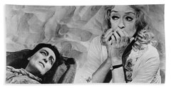 Film: Baby Jane, 1962 Beach Towel