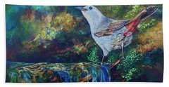 Gray Catbird Beach Sheet