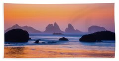 Beach Towel featuring the photograph Final Moments by Darren White
