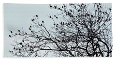 Finches To The Wind Beach Towel