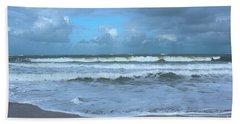 Beach Towel featuring the digital art Find Your Beach by Megan Dirsa-DuBois