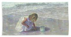 Finding Sea Glass Beach Towel