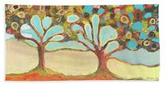 Finding Strength Together Beach Towel