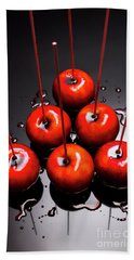 Fine Art Toffee Apple Dessert Beach Towel