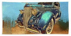 Fine Ride Beach Towel