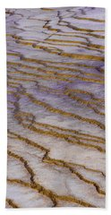 Beach Towel featuring the photograph Fingerprint Of The Earth by Jeffrey Jensen