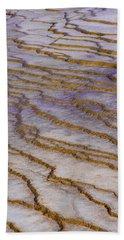 Fingerprint Of The Earth Beach Sheet