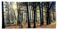Fir Forest-3 Beach Towel