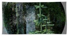 Fir Trees - 3 Ages Beach Towel