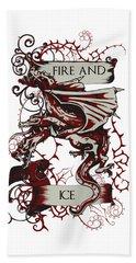 Fire And Ice Beach Sheet