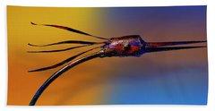 Beach Sheet featuring the photograph Fire Bird by Paul Wear
