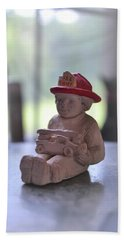Fire Chief Molded Stone Beach Towel