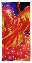 Fire Fairy Beach Towel