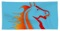 Pony Beach Towels