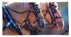 Fire Horses Beach Sheet