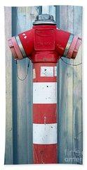 Fire Hydrant Steel Wall Beach Sheet