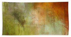 Fire On The Mountain - Abstract Art Beach Towel