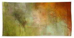 Fire On The Mountain - Abstract Art Beach Sheet