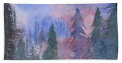 Fire On The Mountain Beach Towel
