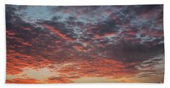 Fire Sky Beach Sheet