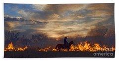 Fire Up The Sunset Beach Sheet