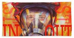 Firefighter Beach Sheet
