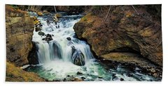 Firehole Falls Beach Towel