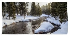 Firehole River Beach Towel