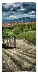 Firenze From The Boboli Gardens Beach Towel