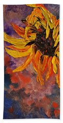 Firespace Flower  27 Beach Towel