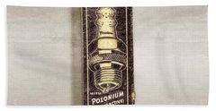 Firestone Polonium Electrodes Box Beach Towel