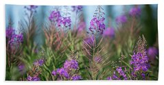 Fireweed Beach Towel