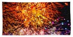 Fireworks 11 Beach Sheet