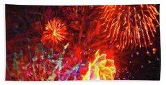 Fireworks 17 Beach Sheet