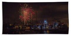 Fireworks, 2018 Beach Towel