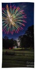Fireworks Beauty Beach Sheet
