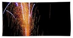 Fireworks II Beach Towel