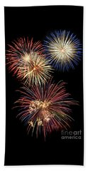 Fireworks Beach Sheet