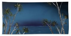 Fireworks Palms Beach Towel