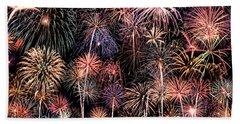Fireworks Spectacular II Beach Towel